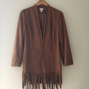 Chico's Fringe Jacket